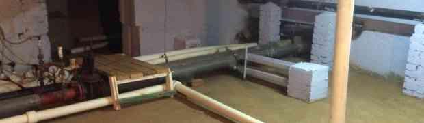 Капитальный ремонт водомерного узла и установка регулятора давления